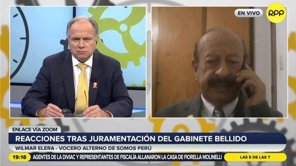 Somos Perú reflexión al Gobierno de Pedro Castillo
