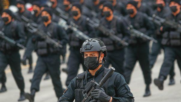 La parada Militar se realiza este año el 30 de julio.