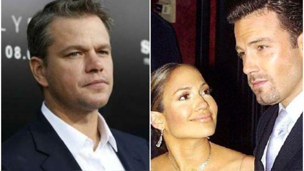 Jennifer Lopez y Ben Affleck: Matt Damon opinó sobre el romance 'Bennifer'