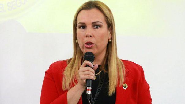 Fiorella Molinelli indicó que colaborará con las autoridades.