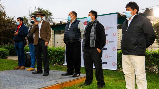 El ministro de Desarrollo Agrario y Riego inició actividades sectoriales.
