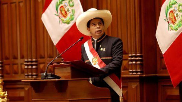 Pedro Castillo cumplirá sus funciones desde Palacio de Gobierno.