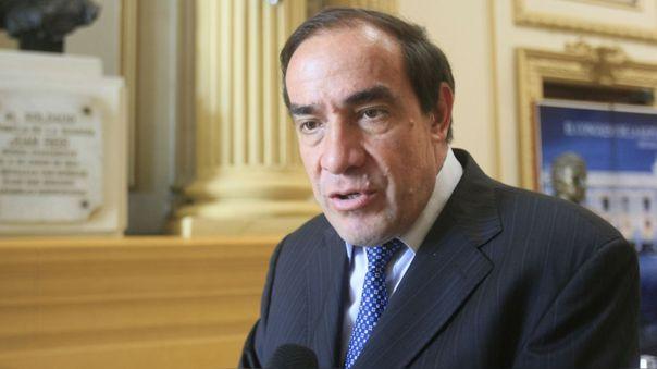 Yonhy Lescano, excongresista y excandidato a la presidencia por Acción Popular