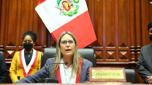 María del Carmen Alva, presidenta del Congreso.