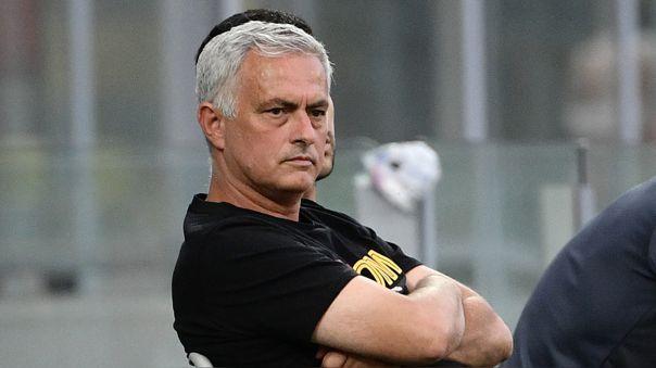 José Mourinho dirige su primera temporada en la Roma.