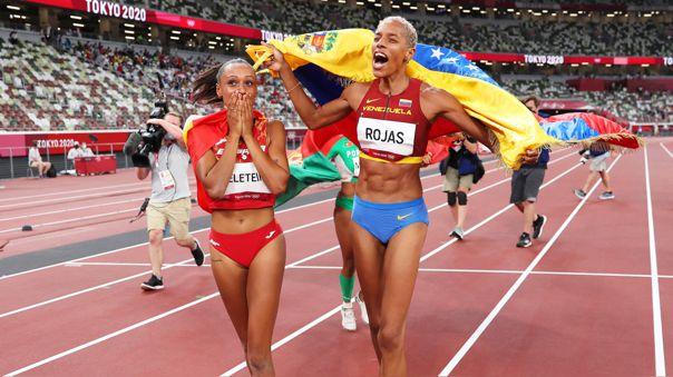 Yulimar Rojas hizo historia con el récord y oro que logró en Tokio 2020.