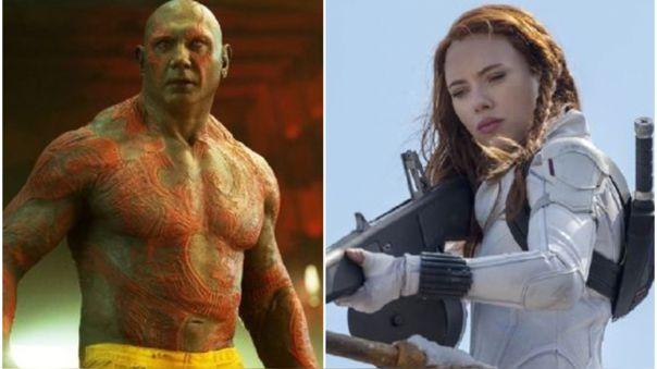 Dave Bautista publicó un irónico mensaje sobre la demanda de Scarlett Johansson a Disney