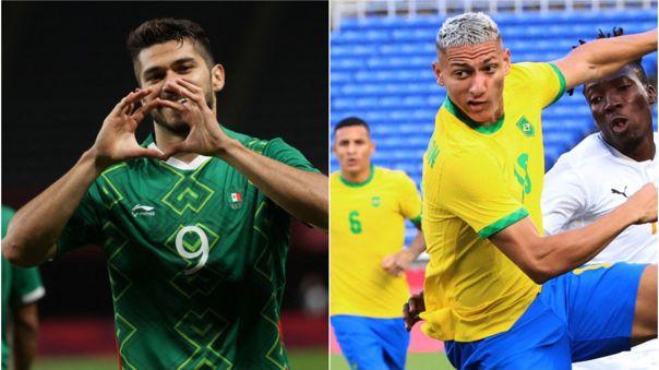 ¡Van por el oro! Brasil venció en penales a México y clasificó a la final de los Juegos Olímpicos Tokio 2020