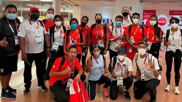 Selección de Atletismo en Tokio para competir en los Juegos Olímpicos