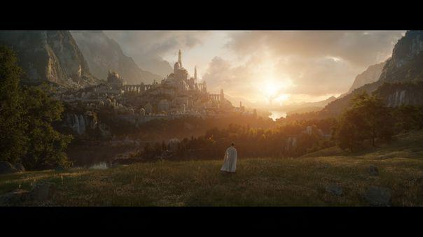 Amazon Studios muestra la primera imagen de la serie de 'El Señor de los Anillos' para coincidir con el fin de la filmación en Nueva Zelanda.