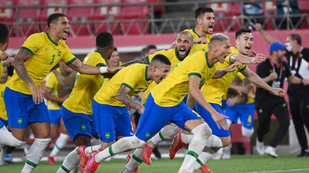 Brasil a la final de los Juegos Olímpicos Tokio 2020 tras vencer por penales a México