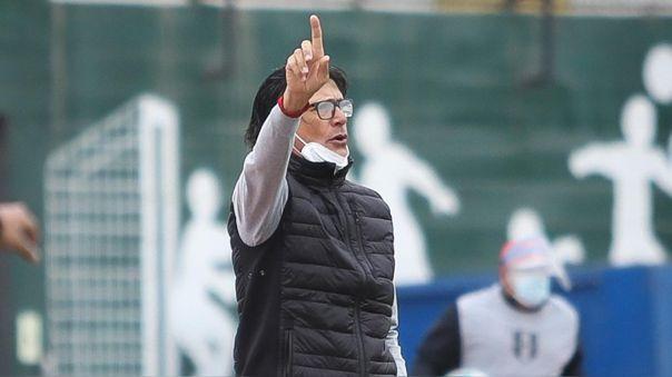 Ángel Comizzo se refirió al empate agónico de Universitario ante Cristal