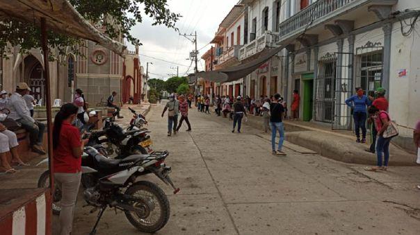 Poblado de Sucre, Colombia.