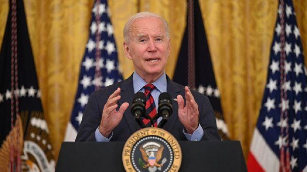 Joe Biden presume de haber donado más vacunas que China y Rusia.