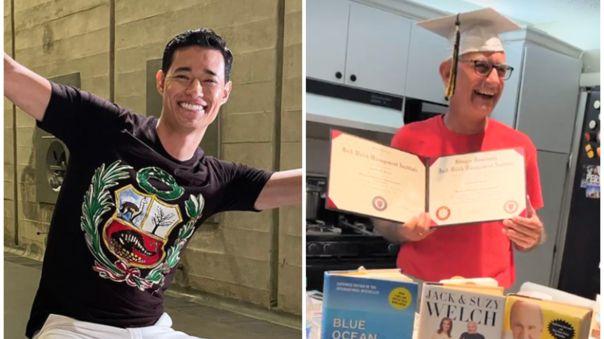 """Tony Succar celebra la graduación de su padre a los 67 años: """"Estoy increíblemente orgulloso"""""""