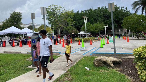 Florida contabilizó este jueves 20.133 nuevos casos de la covid-19