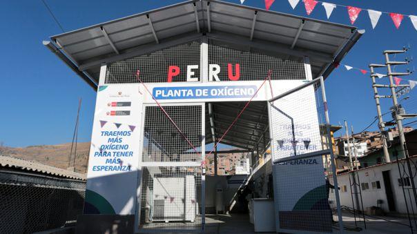 La Libertad: Inauguran planta de oxígeno en Otuzco para beneficio de 220 mil personas