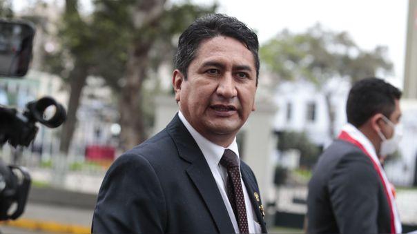 Vladimir Cerrón, líder de Perú Libre.