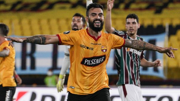 Barcelona SC clasificó a semifinales de la Libertadores tras empatar 1-1 con Fluminense