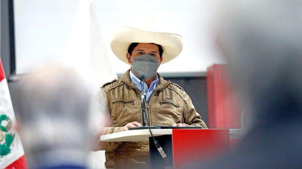 Pedro Castillo, presidente de la República.