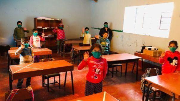 Entre febrero y abril, el Ministerio de Educación transfirió 78 millones de soles a las direcciones regionales de educación para implementar medidas de bioseguridad.