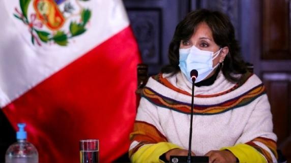 Dina Boluarte, ministra de Desarrollo e Inclusión Social.
