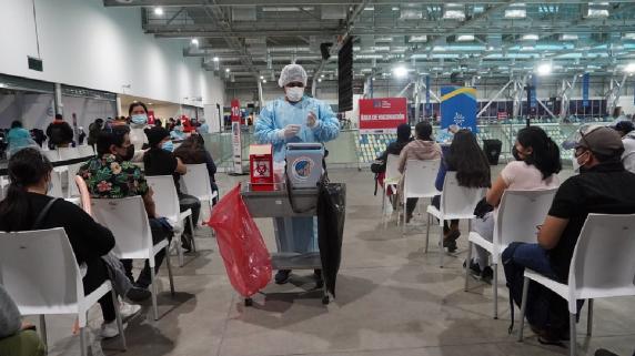 Vacunas aplicadas en Perú
