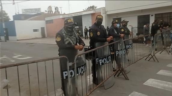 Fiscalía solicita al Mininter reforzar las medidas de seguridad en la Morgue del Callao.