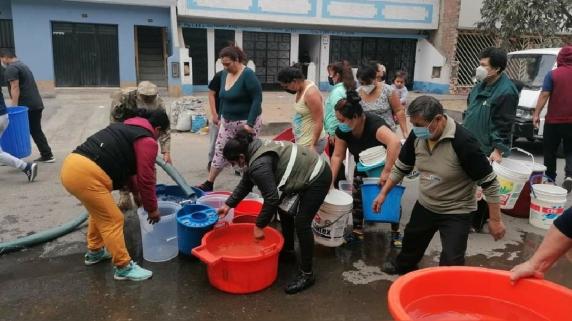 Falta de agua en San Juan de Lurigancho
