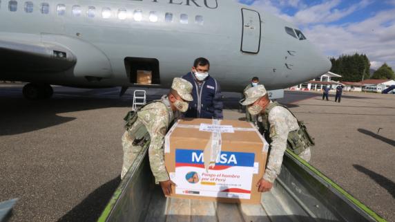 Apurímac recibió un nuevo lote de más de 66 mil dosis de la vacuna