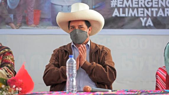 Cuatro ministros acompañan a Pedro Castillo en su viaje a México y Estados Unidos