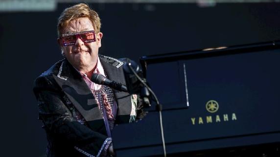 Elton John. Gira Europa.