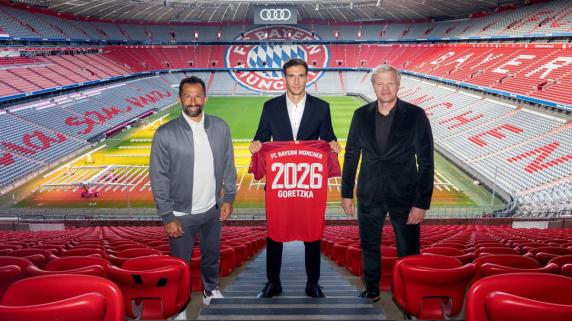 Leon Goretzka lo ha ganado todo con la camiseta del Bayern Munich.