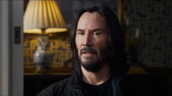 Matrix 4 Resurrections. Keanu Reeves. Lana Wachowski.