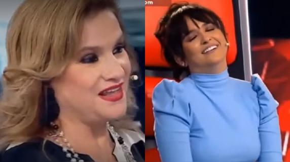 La Voz Senior. Pimpinela. Daniela Darcourt. Lucía Galán.