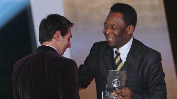 Pelé pasó por clubes como Santos y New York Cosmos.