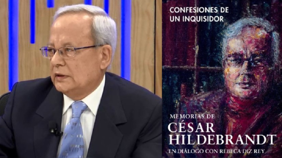 César Hildebrandt. Confesiones de un inquisidor.