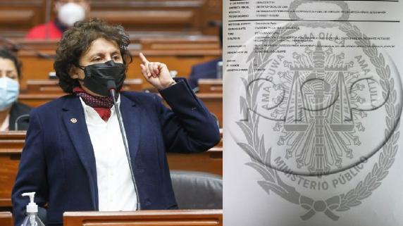 Susel Paredes denunció a Guido Bellido por discriminación ante el Ministerio Público