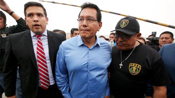 Fiscalía solicitó 35 años de prisión para Félix Moreno.