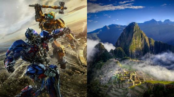 Transformers. Cusco. Machu Picchu.