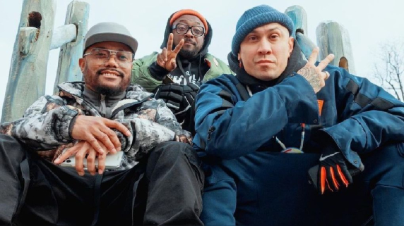Black Eyed Peas. Concierto. Pirámides de Egipto.