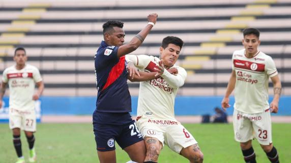 Universitario vs Municipal por Liga 1.