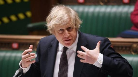 Primer ministro del Reino Unido, Boris Johnson.