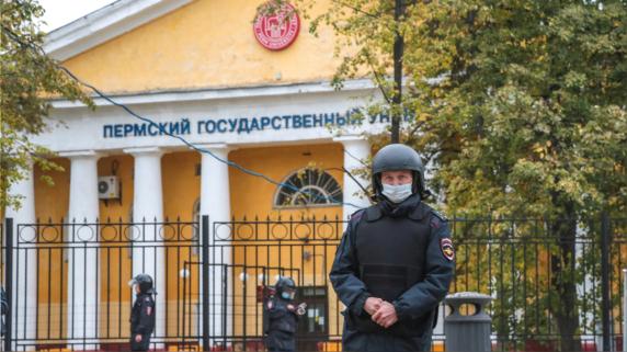 Tiroteo en Rusia