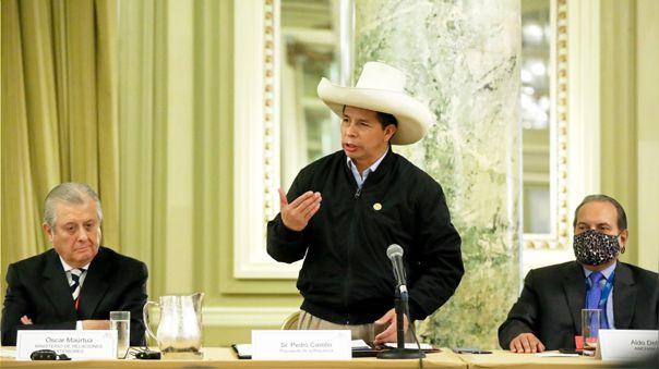 Pedro Castillo en Estados Unidos