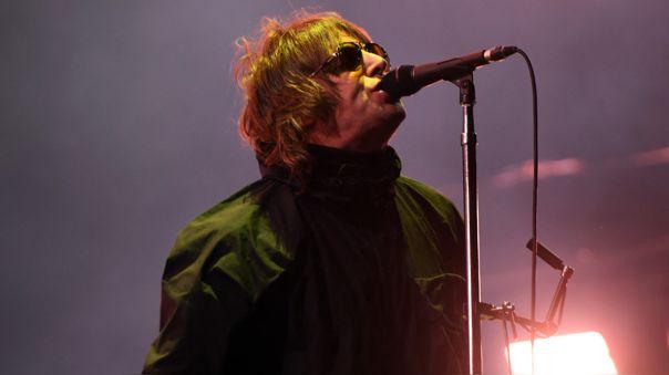 Liam Gallagher sufrió un accidente tras caer de un helicóptero