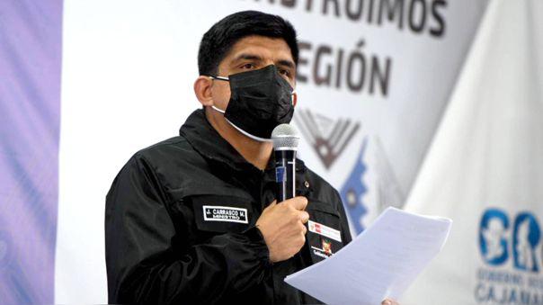 Juan Carrasco, ministro del Interior.