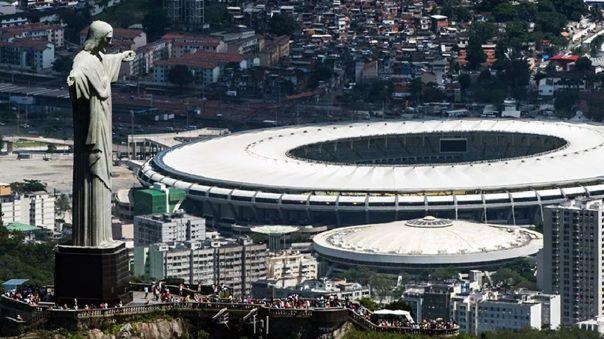 Estadio Maracaná en Rio de Janeiro