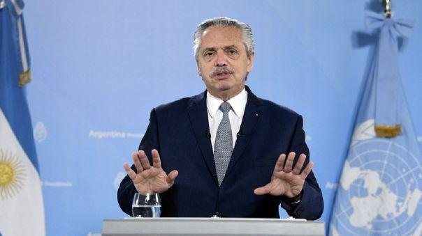 Alberto Fernández lamenta ante la ONU que Argentina está sometida a