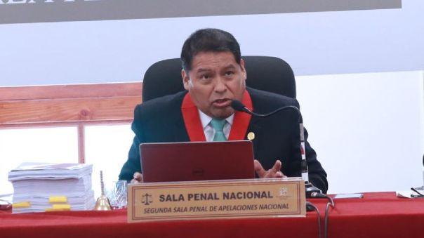 César Sahuanay, presidente de la Corte Superior Nacional de Justicia Penal Especializada